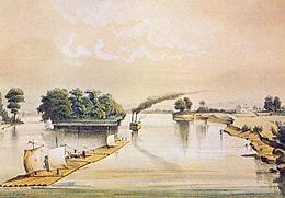 St. Croix River  Painting by Henry Lewis